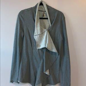 XCVI ruffle jacket- M